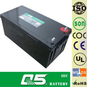 12V200AH Deep-Cycle battery Lead acid battery Deep discharge battery Inverter battery pictures & photos