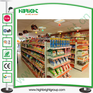 Double Side Perforated Gondola Supermarket Shelf pictures & photos