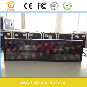 P10 Outdoor Single Red LED Sign Board pictures & photos