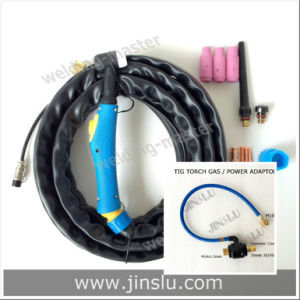 TIG-17/Wp-17 Air Cooled Separate 4m Welding Torch with 35-50 Dinse