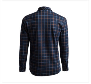 OEM 2015 Latest Design 100% Cotton Plaid Printing Shirts for Men pictures & photos