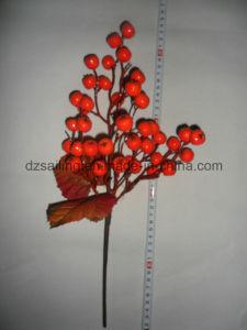 Autumn Coloration Berry Artificial Flower for Home Decoration (SHL15-G003) pictures & photos