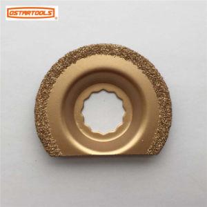 Oscillating Flush Cut Round Tungsten Carbide Blade Rasp for Supercut pictures & photos