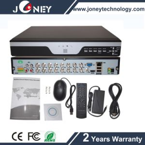 HD 16 Channel CCTV Ahd DVR (Work with analog, IP cameras) pictures & photos