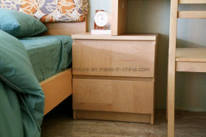 Bedroom Furniture/Wooden UV Lacquered Nightstand (N1012)