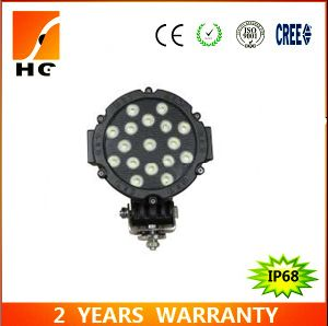Hot Sale 7′′ 51W Jeep Offroad Epistar LED Work Light pictures & photos