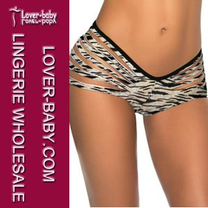 Woman Brazilian Tanga Swimsuit Bikini Panty (L91292-7) pictures & photos