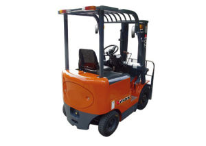 Counterbalanced Four Fulcrum Battery Forklift pictures & photos