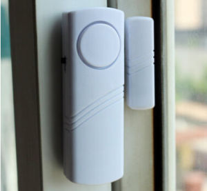 Home Security System Mini Magnetic Door Alarm Sensor Window Entry Alarm pictures & photos