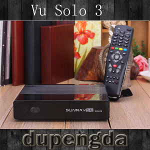 Vu Solo Se New Model Satellite TV Receiver Sunray Se Solo3 DVB-S2/C/T/T2 Tuner Bigger Memory of 1GB DRAM and 256MB Decoder