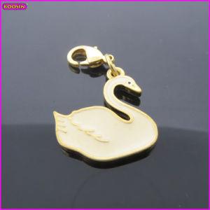White Swan Enamel Metal Charm (17220) pictures & photos