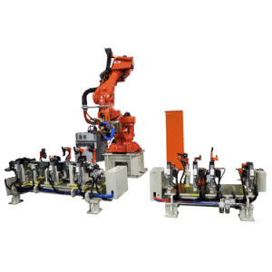 Heron Press Welding Robot Workstation