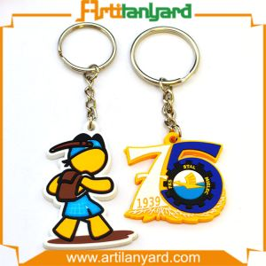 Promotional Customized Logo PVC Keychain pictures & photos
