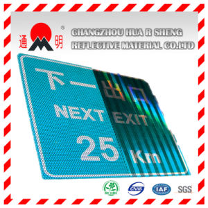 Acrylic High Intensity Grade Reflective Material Film for Highway Road Safety Sign Warning Sign (TM1800) pictures & photos