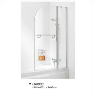 European Style Bathroom Pivot Partition Bathtub Shower Screen pictures & photos