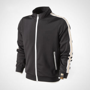 100% Polyester 280GSM Piping Men Custom Sportswear, Winter Jackets, Workout Clothes pictures & photos