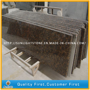 Prefab Polished Baltic Brown Granite Stone Kitchen Vanity Worktops pictures & photos