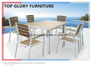 Outdoor Aluminium Frame Polywood Furniture Dining Set (TG-1335) pictures & photos