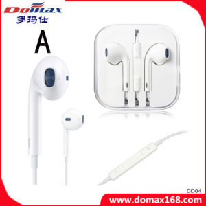 Cell Phone Accessorie 3.5mm Noise Cancelling of Earphone with Microphone pictures & photos