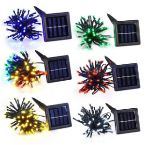 unique 50pcs LED solar string light with touch control pictures & photos