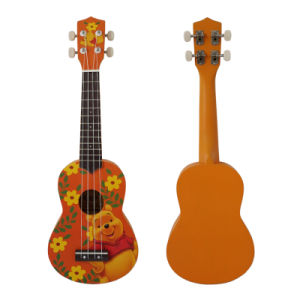 Wholesale Linden Plywood Colorful 21 Inch Soprano Ukulele pictures & photos