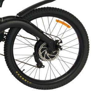 Full Suspension 26*2.50 Mountain Electric Bike pictures & photos