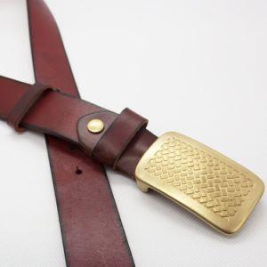 Top Layer Genuine Leather Belt Cow Hide Belt Cattle Hide Belt (SR-131209) pictures & photos