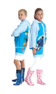 Children PVC Raincoat Fashion pictures & photos