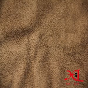 100% Polyester One Side Suede Polyester Fabric for Sofa/Shoes pictures & photos