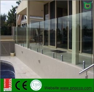 Building Materia Lglass Hardrail with Australian Standard Tempered Glass pictures & photos