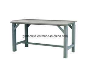 Heavy-Duty Stainless Stee Lworking-Bench with Oil Baffle Plate on The Edge of The Table pictures & photos