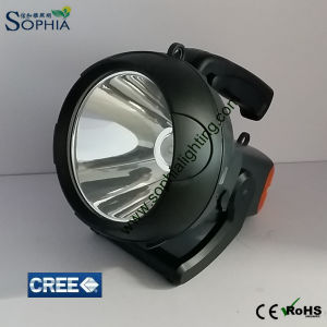 Waterproof Powerful 20W Spotlight with Rechargeable Lithium Battery pictures & photos