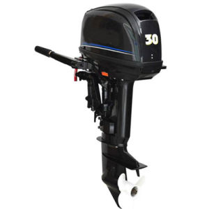 2 Stroke 30HP Electric Start Marine Outboard Engine for Yacht pictures & photos