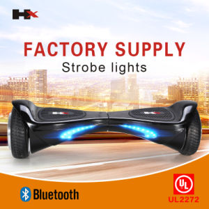 UL 2272 Approved LED Light 6.5inch Bluetooth Electric Scooter