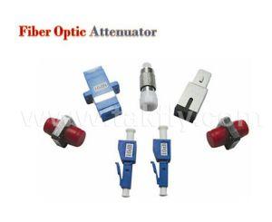 LC/FC/St/Sc 5dB 10dB 15dB 20dB Male-Female Fiber Optic Attenuator pictures & photos