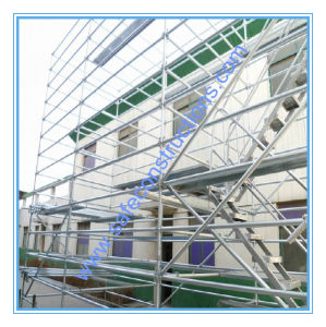 Safe SGS Approved Wedge Lock Scaffolding for Building pictures & photos