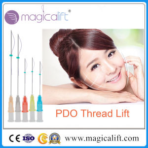 High Quality Absorbable Suture Pds Pdo Medical Thread with Needle pictures & photos