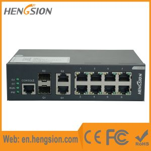 Managed 8 Tx 2 SFP Port Ethernet Access Network Switch pictures & photos