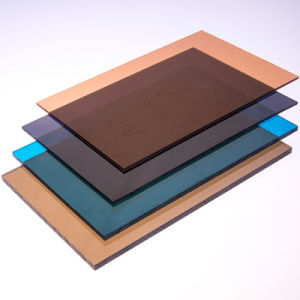 Frosted Polycarbonate Solid Sheet Hollow Sheet Corrugated PC Sheet with UV Protection pictures & photos