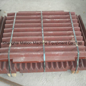 High Quality Mn13/Mn18 Wear Resistant Jaw Plate