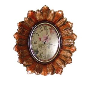 Decoration Wall Clock Sunflower Iron Home Clock pictures & photos