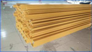 Wood Grain Transfer Aluminum Profile Tube/Pipe 6061 6063 6060 pictures & photos