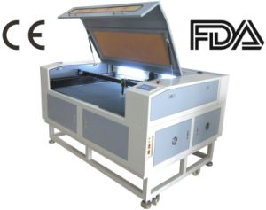 High Efficiency Double Heads Laser Cutter for Leather 80W/100W pictures & photos