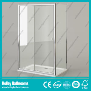 High Class Rectangle Shower Sliding Door with Aluminium Alloy Frame (SE904C) pictures & photos