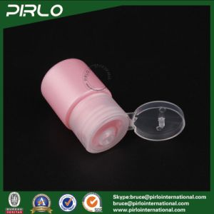 15ml Pink Color Plastic Bottle with Flip Top Cap for Cosmetic Lotion Sampler Portable Travel Size Plastic Cosmetic Lotion Bottle pictures & photos