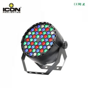 IP20 LED PAR Can Light 54X1/3W RGBW for Stage pictures & photos