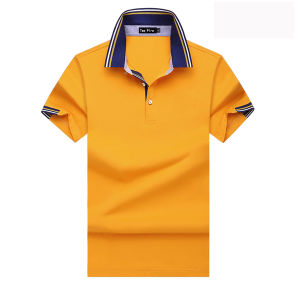 High Quality Fashion Customized Men Bulk Plain Bright Color Polo Shirts pictures & photos