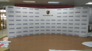 Full Digital Cmyk Printing Custom Vinyl Banners Pop up Backdrop Wall Display pictures & photos