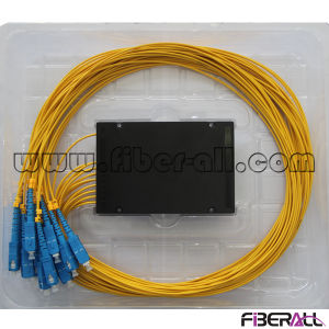 Fiberall 1X16 Fiber Optical PLC Splitter with Sc Connector pictures & photos