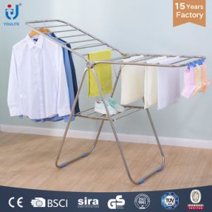 Stainless Steel Foldable Clothes Rack pictures & photos